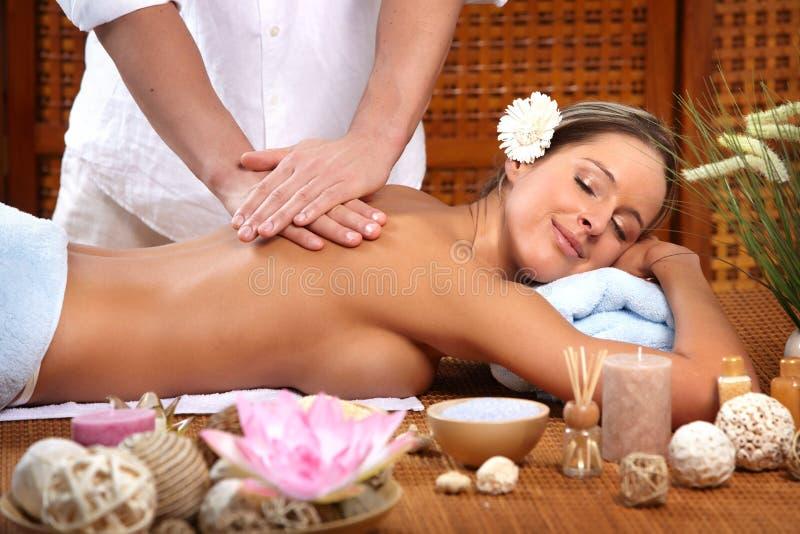 Massaggio fotografie stock libere da diritti