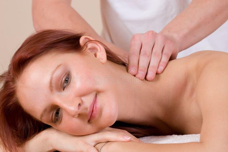 Massaggio #35 immagine stock