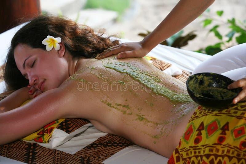 Massaggio fotografie stock