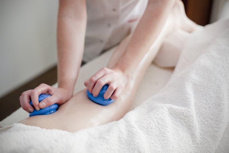 Massaggio dei wellnes e della stazione termale fotografia stock