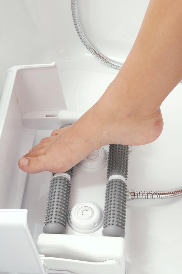 Massaggio del piede fotografie stock libere da diritti