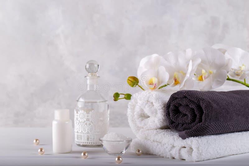 Massaggio e benessere della stazione termale immagine stock