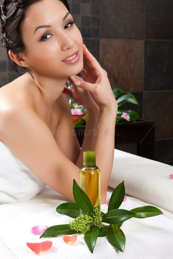 Massaggio e stazione termale fotografie stock