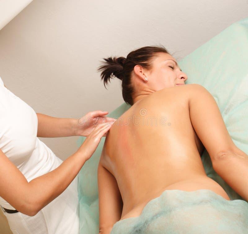 Massaggio locale immagini stock