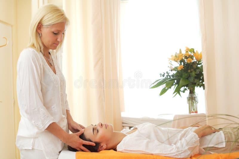 Massaggio Restful fotografia stock libera da diritti