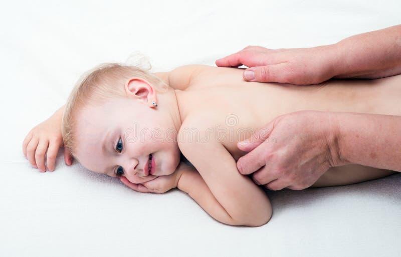 massaging fotografia de stock