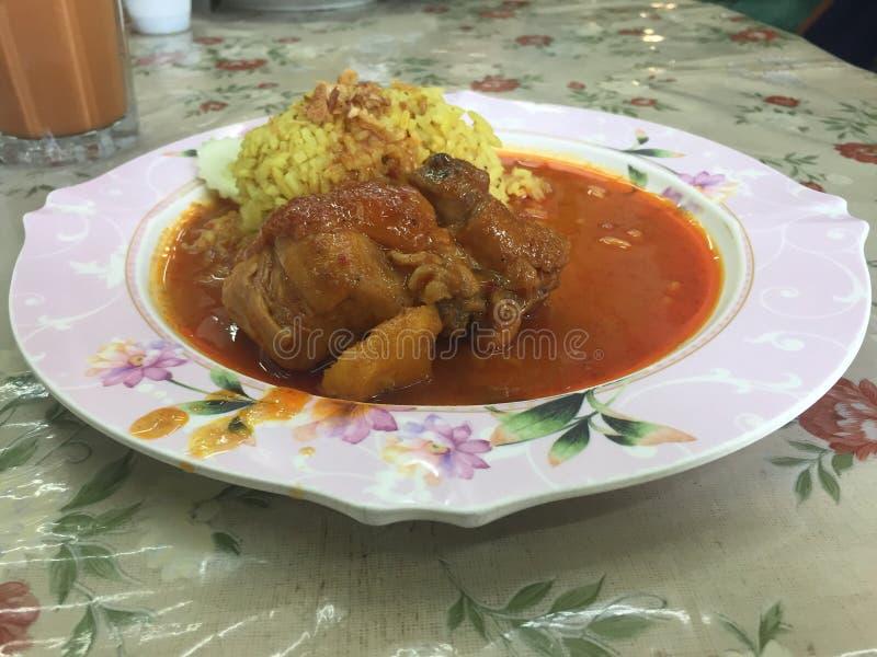 Massaman kurczaka curry zdjęcia royalty free