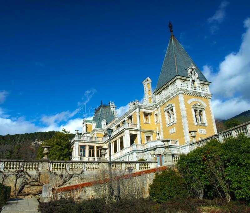 Massandra Palace. The general view