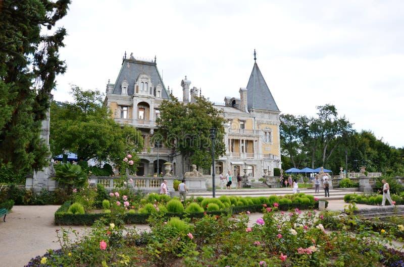 Massandra slott royaltyfria bilder