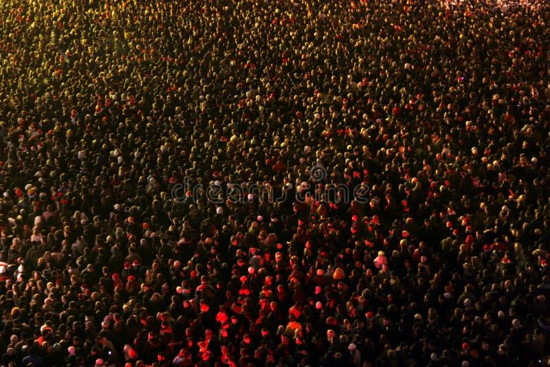 Masse der Leute