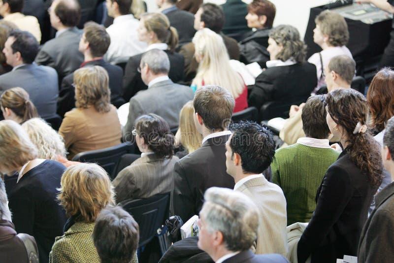 Masse - Menschenmenge stockfoto