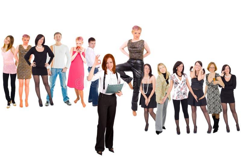 Massen und Gruppen von Personen lizenzfreie stockfotos