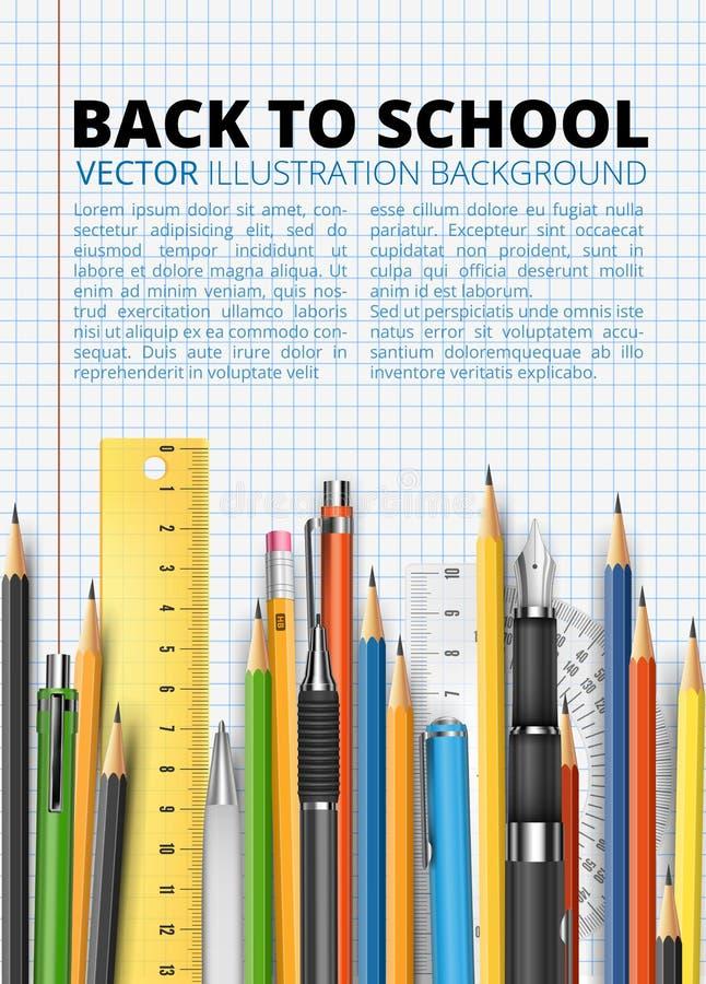 Massenbleistifte vektor abbildung