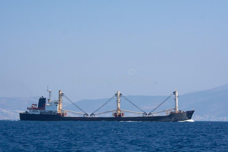 Massengutfrachterlieferung stockfoto