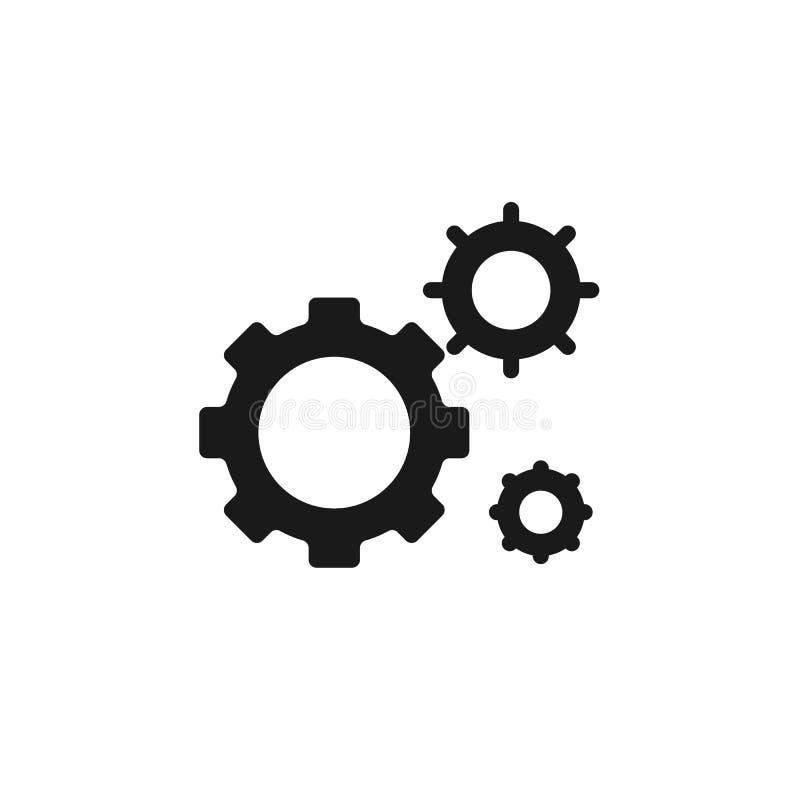 Massenproduktion, Einstellungsikone - Vektor Einfache Elementillustration von UI-Konzept Massenproduktion, Einstellungsikone - Ve vektor abbildung