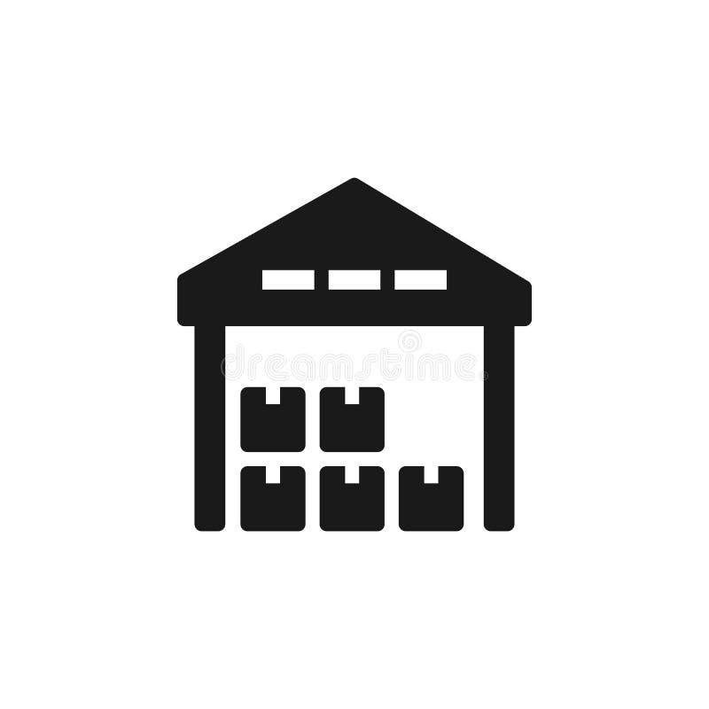 Massenproduktion, Lagerikone - Vektor Einfache Elementillustration von UI-Konzept Massenproduktion, Lagerikone - Vektor stock abbildung