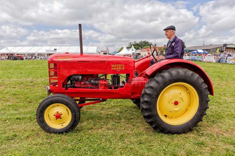Massey Harris 101 Junior Trator imagem de stock