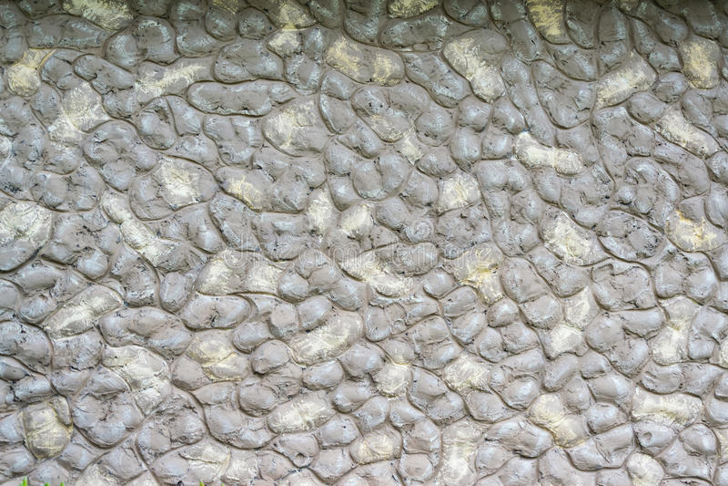Massi arrotondati grey di pietra del fondo immagine stock libera da diritti