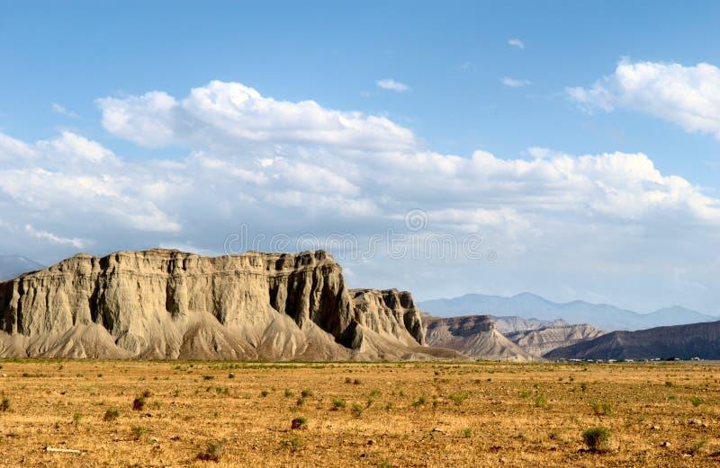 Massif da montanha fotografia de stock