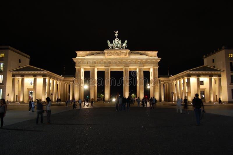 Massif de roche de Brandenburger photo libre de droits