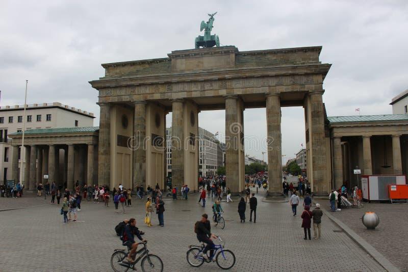 Massif de roche de Brandenburger images libres de droits