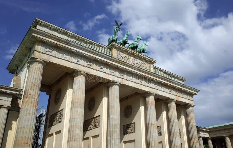 Massif de roche de Brandenburger, Berlin image libre de droits