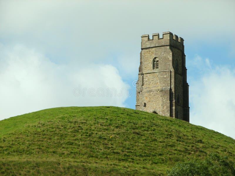 Massif de roche de Glastonbury photo libre de droits