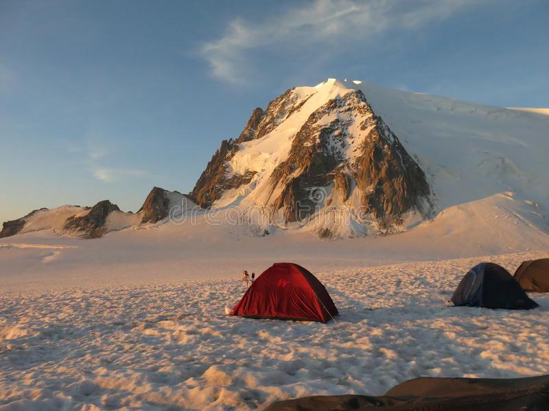 Massif Mont Blanc stock image