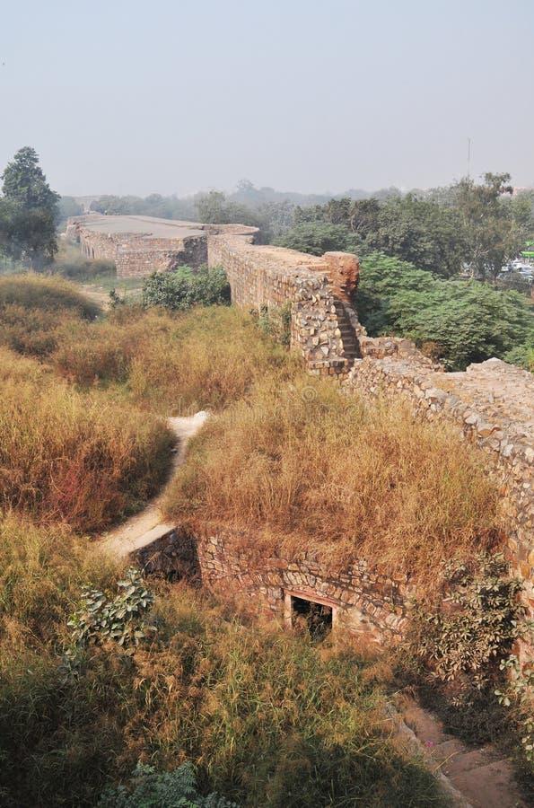 Download Massive Defensive Wall Of Purana Qila Delhi Stock Image - Image: 26007961
