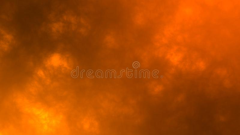 Massive explosion or fiery conflagration with sparks and hot smoke abstract texture background stock photos