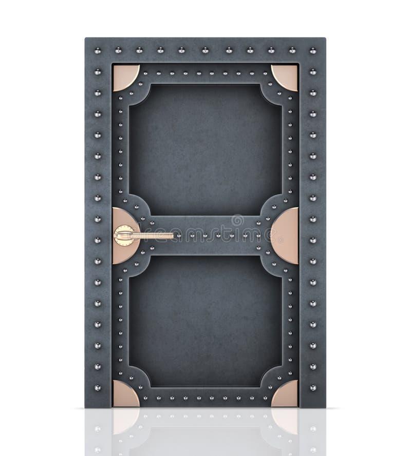 Metalltür  Massive Metalltür Stockbilder - Bild: 11853024