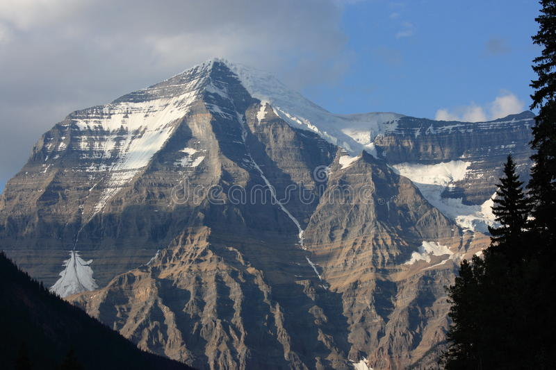 Download Massive Mount Robson stock image. Image of prominent - 11113895