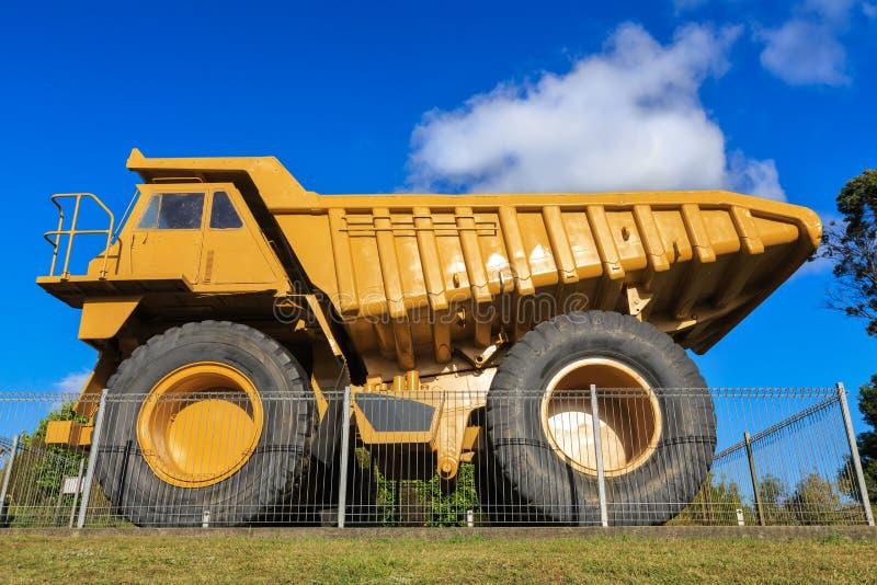 A massive 100-ton haul truck royalty free stock photo