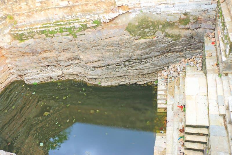 Massivt Chittorgarh fort och jordning rajasthan Indien royaltyfri bild
