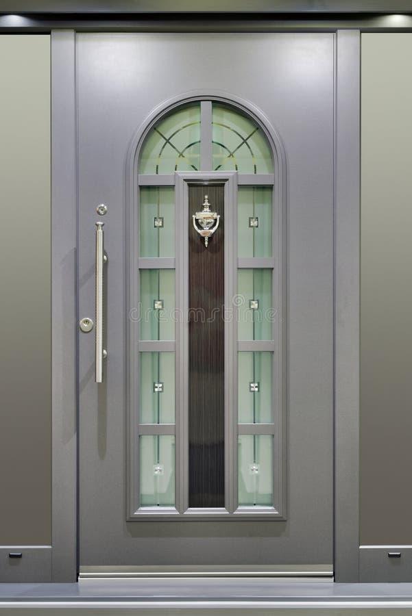massivt metalliskt för dörr royaltyfria bilder