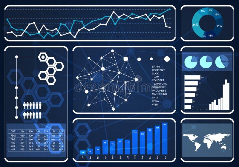 Massmediamanöverenhetsbakgrund vektor illustrationer