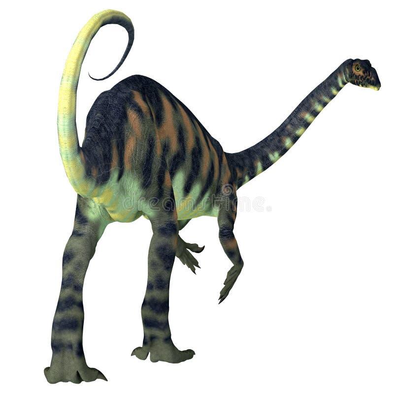 Massospondylus dinosauriesvans stock illustrationer
