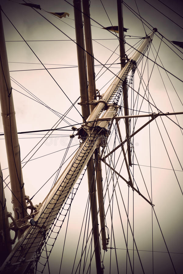 Download Mast stock image. Image of blue, shipping, marine, retro - 25304575