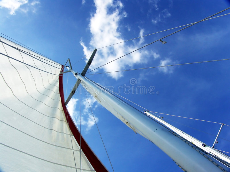 Download Mast From Below Stock Image - Image: 4663311