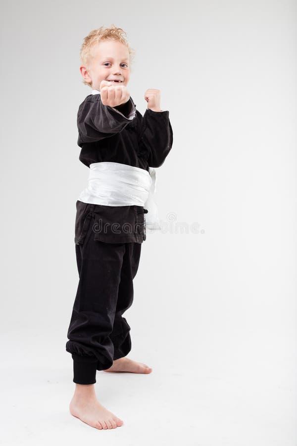 Masta do kung-fu de I'ma, borracho imagem de stock