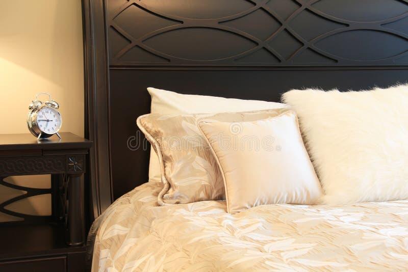 Download Master bedroom stock image. Image of close, beige, furniture - 25650389