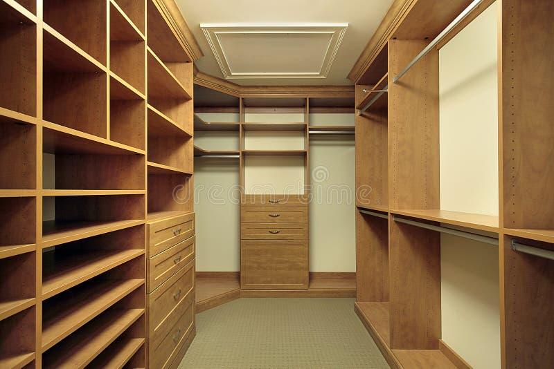 Master Bedroom Closet Royalty Free Stock Photo
