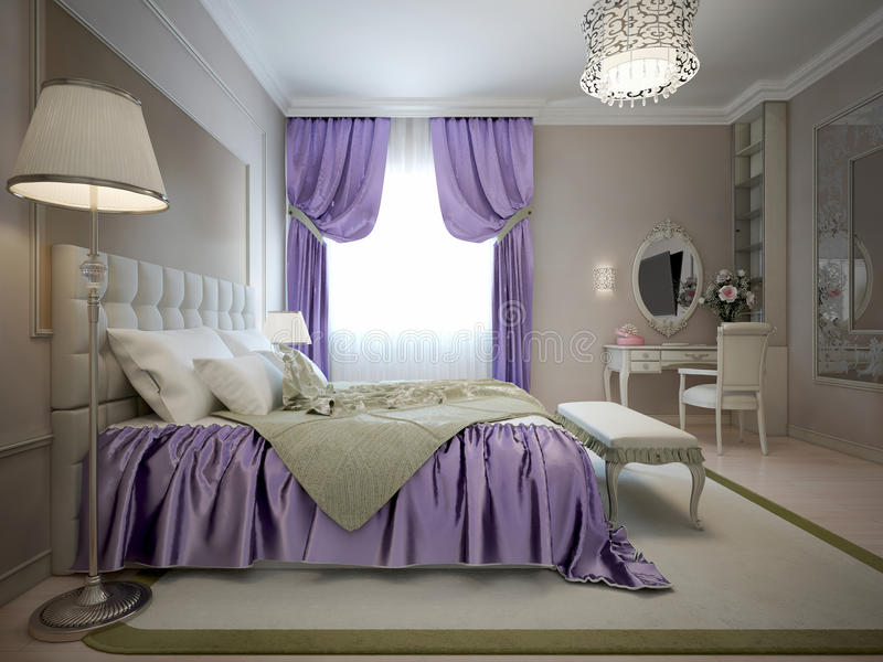 Download Master Bedroom Neoclassical Style Stock Illustration   Image   61335757. Master Bedroom Neoclassical Style Stock Illustration   Image  61335757