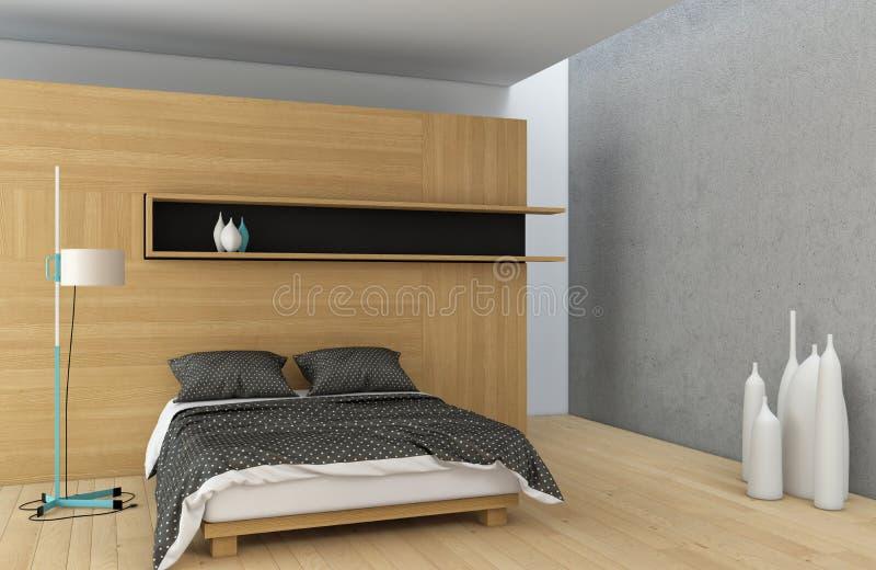 Download Master bedroom stock illustration. Image of home, bedroom - 31930042