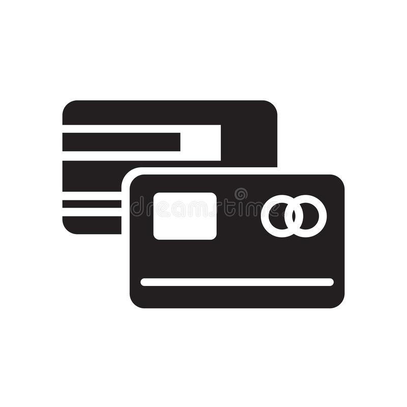 Master card icon isolated on white background. For your web and mobile app design vector illustration