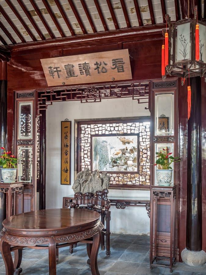 Master of Nets Garden Wang Shi Yuan, Suzhou, China stock photos