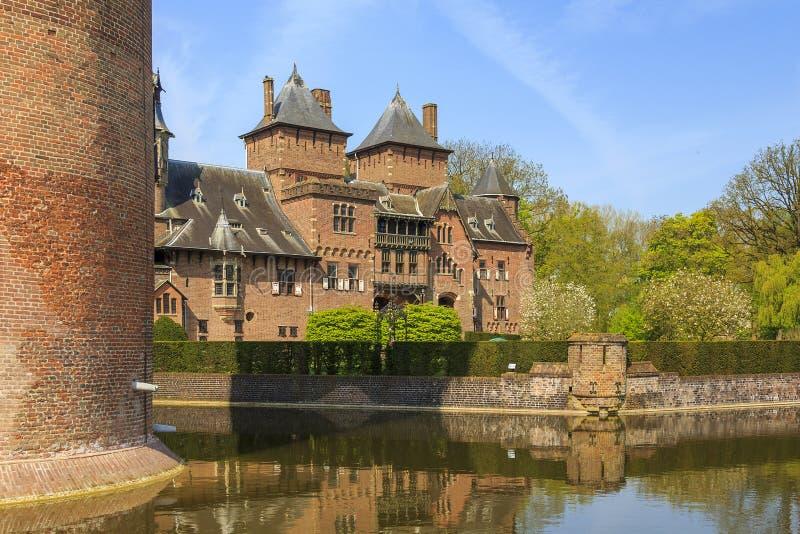 Master' s-gård av slotten de Haar arkivbild