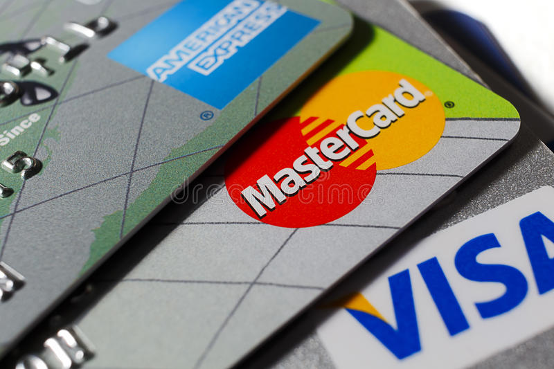Mastercard стоковое фото