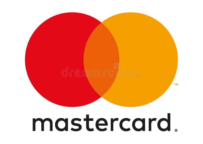 MasterCard-Logo lizenzfreie abbildung