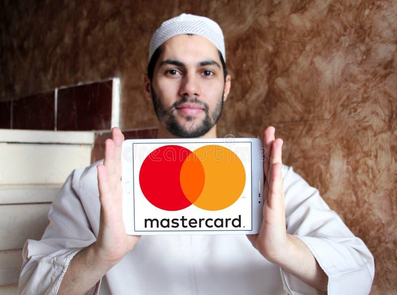 Mastercard logo royalty free stock image
